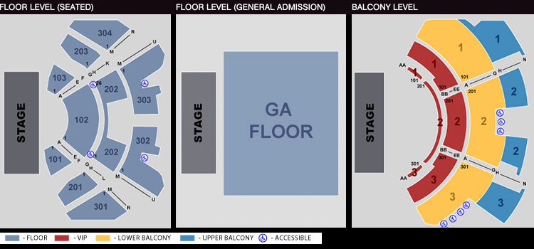 seating chart the novo